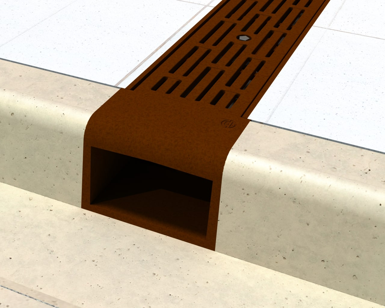 Cast Iron Curb Opening