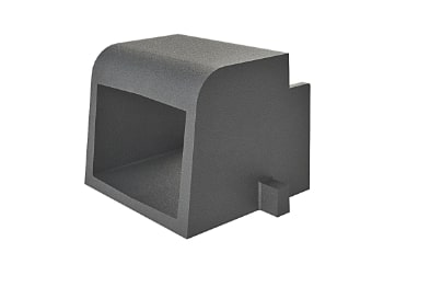 6 inch Black Curb Opening Casting