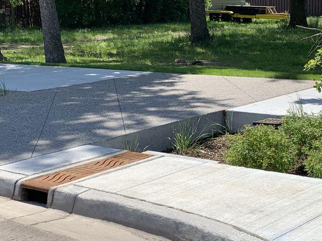 Sidewalk T-12 Trench Drain System
