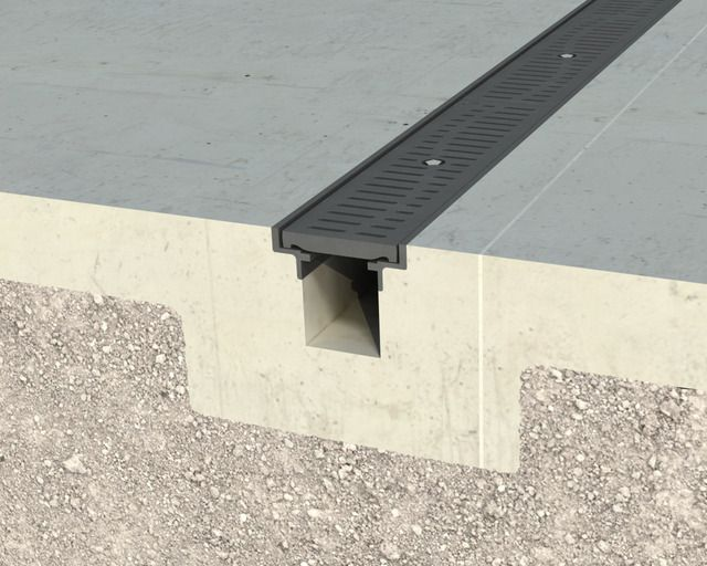 Angle Framed T-06 Trench Drain